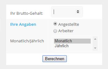 Brutto Netto Rechner Österreich 2016