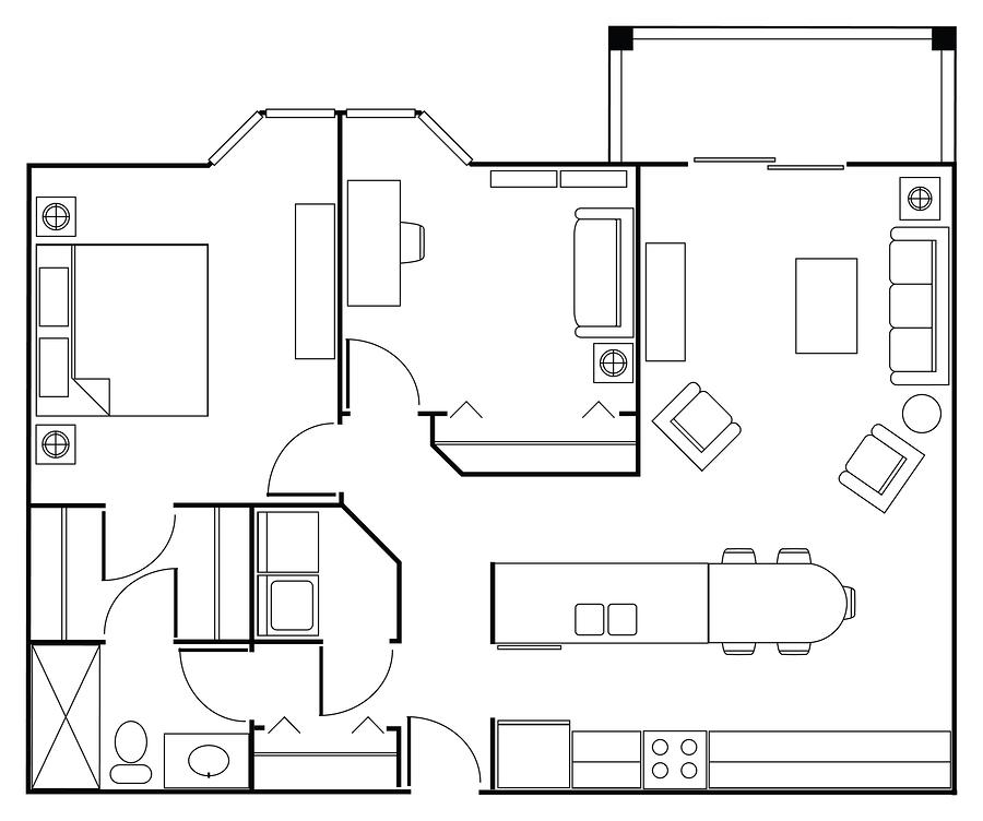 Eigentumswohnung Grundriss