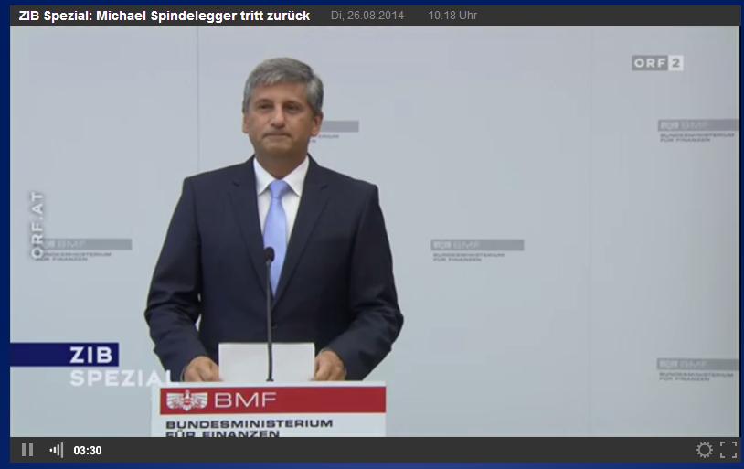 Michael Spindelegger Finanzminister