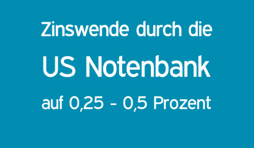 zinswende in den usa durch us notenbank