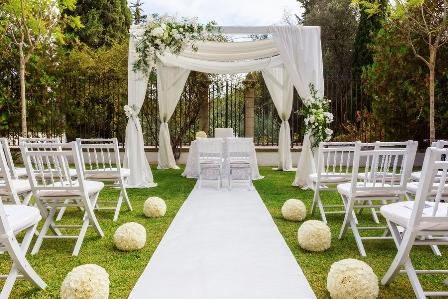 Man heiratet (hoffentlich) nur einmal - entsprechend kann man es bei der Hochzeit krachen lassen