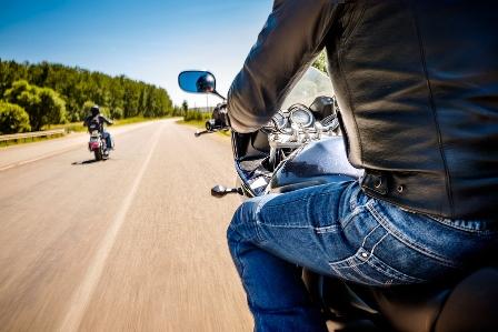 Motorradfahren ist für viele der Inbegriff von Freiheit