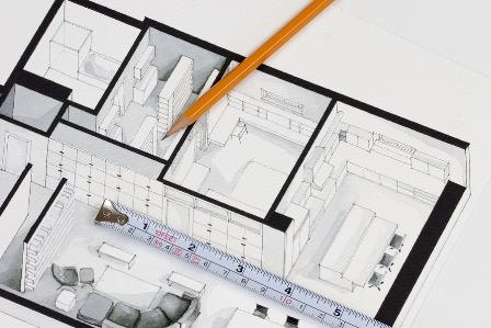 Planung einer Eigentumswohnung