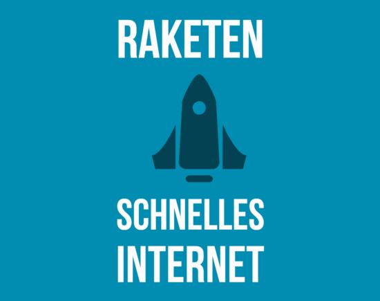 Raketenschnelles Internet