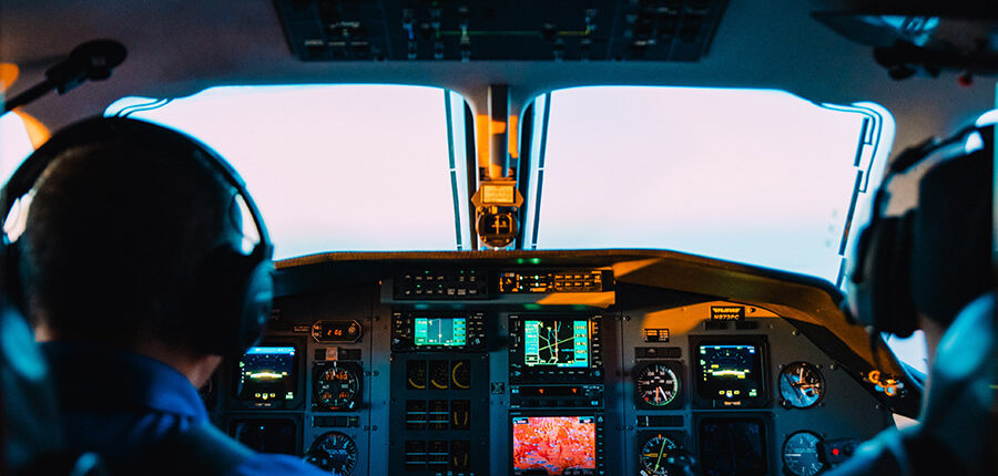Gehalt eines Piloten